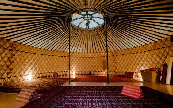yurts for massage
